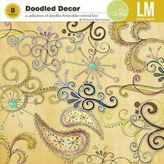 Doodled Decor -The Lily Pad