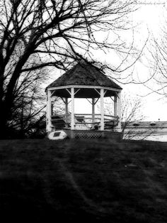 Gazebo at Onset, MA harbor