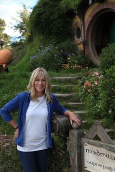 Visiting Bag End in Hobbiton, Matamata on my Essential Annabel Langbein Tiki-Tour!