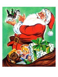 *Christmas Kitten - Jack and Jill, December 1963*