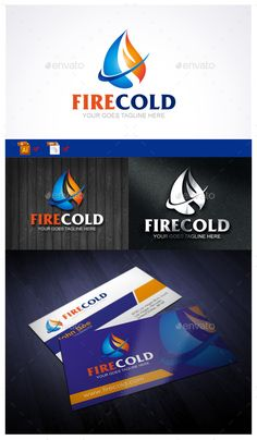 Fire Cold - Logo Design Template Vector #logotype Download it here: http://graphicriver.net/item/fire-cold/10023319?s_rank=209?ref=nexion