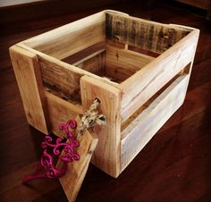 Pallet Life Australia. We made this gift crate out of recycled pallets. Find us on Facebook. Facebook.com/palletlifeaustralia