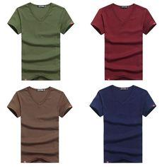 Mens Underwear Work Casual Apparel Men's Athletic V-Neck Undershirts T shirts  #VNeckUndershirtsMen #VNeck