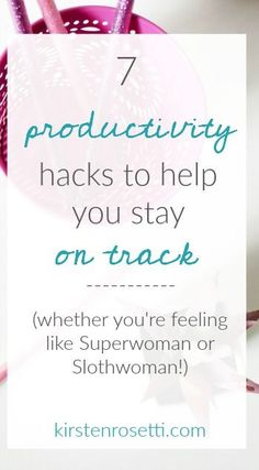 Being productive is about cultivating habits and arranging your day in a way that supports and facilitates your goals. Try these simple productivity tips.