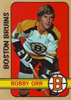 """Happy Birthday, March Robert Gordon """"Bobby"""" Orr (March Hockey Player, Defence, 1966 - 78 for the Bruins and the Blackhawks. Hockey Hall of Famer. Boston Bruins Hockey, Blackhawks Hockey, Hockey Goalie, Hockey Mom, Chicago Blackhawks, Bobby Orr, Boston Sports, Hockey Games, Historia"""