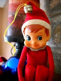 Sweet little knee-hugger elf...