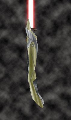 Curved saber by SithMasterJosh on @DeviantArt Lightsaber Prop, Lightsaber Design, Custom Lightsaber, Sith Costume, Star Wars Light Saber, Star Wars Games, Robot Design, Sci Fi Characters, Star Wars Episodes