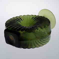 "Helena tynell, vas, glas, ""aurinkopullo"", riihimäen lasi, 1900 talets senare hälft"