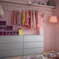 aménager un dressing, rangement de vêtements avec placards et penderie