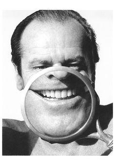 Jack Nicholson RESPLANDOR DE MIS DIENTES