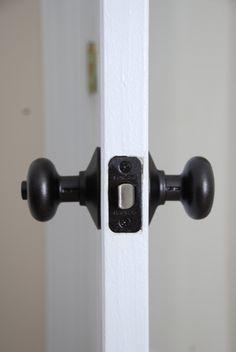 paint door knobs on pinterest paint doors door knobs and knobs. Black Bedroom Furniture Sets. Home Design Ideas