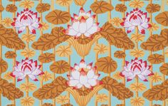 A personal favorite from my Etsy shop https://www.etsy.com/listing/271605229/kaffe-fassett-lotus-stripe-pwgp140