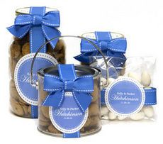 Personalized Periwinkle Favors or Gifts
