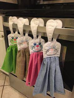 Aprende cómo hacer lindos toalleros para decorar la cocina ~ Belleza y Peinados
