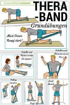 Das Theraband ist so genial weil es so einfach ist! Du kannst Dein Training damit stufenweise ausbauen aber auch gleichzeitig eine Vielzahl von Muskelpartien trainieren. Es ist günstig, es ist leicht verstaubar und es fördert die Ausdauer! Wir zeigen Dir hier, welche Grundübungen Du absolvieren kannst, und wie Du Dein Theraband-Training sukzessiv erweitern kannst.