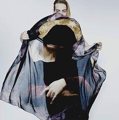 Givenchy Madonna scarf