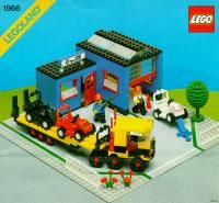 View LEGO instructions for Car Repair Shop set number 1966 to help you build these LEGO sets