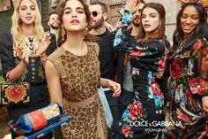 Olympia of Greece, Chiara Scelsi, Sonia Ben Ammar, and Corinne Foxx shot in Palermo by Luca and Alessandro Morelli for Dolce&Gabbana FW18 Advertising Campaign. #DGPalermo #DGMillennials #DGCampaign #DGFW18 #DGRinascimento #realpeople #DGWomen
