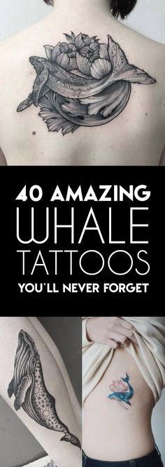 40 Amazing Whale Tattoos | TattooBlend