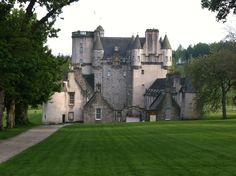 Castle Fraser in Inverurie, Aberdeenshire, Scotland. Built between 1575 and 1635