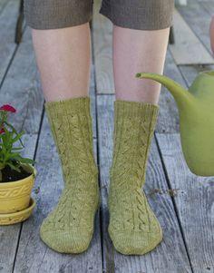 Cookie's Summer Socks Pattern