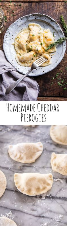 Homemade Cheddar Pierogies   halfbakedharvest.com @hbharvest