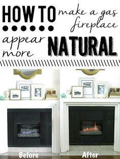 How to Make a Gas Log Fireplace Smell Like Wood | Gas logs, Logs ...