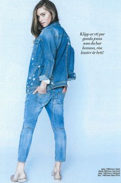 Odd Molly jeans in Sofis Mode Sweden, March 2014