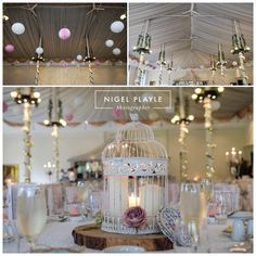 Vintage real wedding decor at Beamish Hall Co. Durham North east wedding venue.