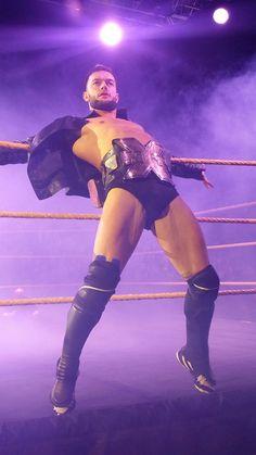 Finn Balor as NXT Champion Love this Irish weirdo