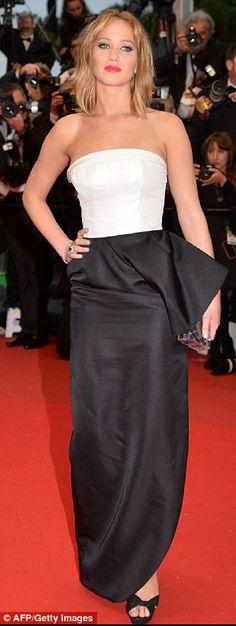 Jennifer Lawrence Cannes 2013