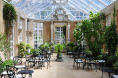 Conservatory, Harlaxton