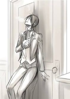 I can no longer control my self, nor my demonic urges... Just standing in the same room. How will I preform my duties, I have to tell him, it's inevitable. Now that I crave more then just his soul....