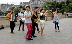 #edinburgh #scotland #black #white #city #capital #silhouette #street #old #town #dance #samba #rumba #musician #music White City, Edinburgh Scotland, Samba, Frames, Black White, Silhouette, In This Moment, Dance, Street