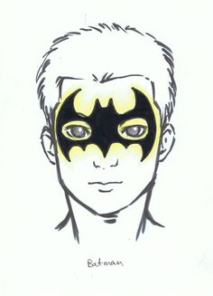 Superhero Face Painting Designs | Encore Kids Parties