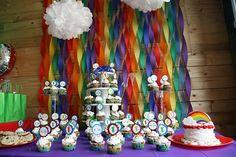 Hostess with the Mostess® - Alexis' Rainbow 1st Birthday