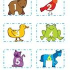a free assortment of printables including brown bear and a zoo shape book!