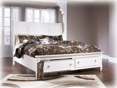 Millennium Bedroom Queen Storage Footboard At I. Keating Furniture At I. Keating  Furniture In Minot, Bismarck, Dickinson And Williston, ND