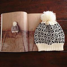 knit hat / 冬空にあうニット小物