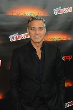 George Clooney, Eva Longoria, Oceans 11, Interview, Middle Aged Man, Film Images, Elderly Man, Hollywood, Important People