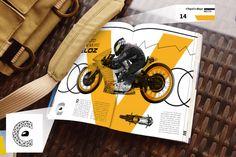Projeto Gráfico criado na agência de comunicação e publicidade #FattoMultticlique #revistas