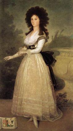 Dona Tadea Arias de Enriquez 1793  Museo Del Prado Madrid  Francisco de Goya