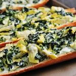 Check out this recipe to create spinach artichoke bread.