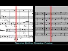 BWV 12 - Weinen, Klagen, Sorgen, Zagen (Scrolling)