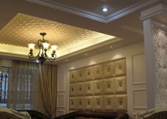 Buckle Up – Faux Leather Ceiling Tile – Faux Leather Walls, Leather Wall Panels, Metal Wall Panel, 3d Wall Panels, Ceiling Panels, Ceiling Tiles, Ceiling Design, Wall Tile, House Ceiling