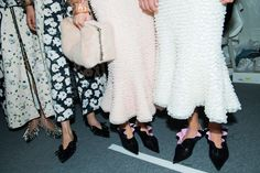 Behind the scenes at Proenza Schouler from Paris couture week.