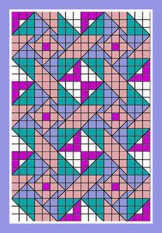 Calliope Crochet Quilt