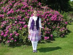 Aboyne with purple vest #Earl #Skye #Purple #Tartan