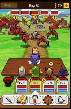 Knights of Pen And Paper Retro / Pixel
