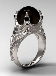 Angel After Dark. Solid Advice About Gothic Jewelry. Gothic Jewelry has always been an important part of cultural expression. Body Jewelry, Jewelry Box, Jewelry Rings, Jewelry Accessories, Jewelry Design, Bullet Jewelry, Jewellery, Gothic Wedding Rings, Gothic Engagement Ring